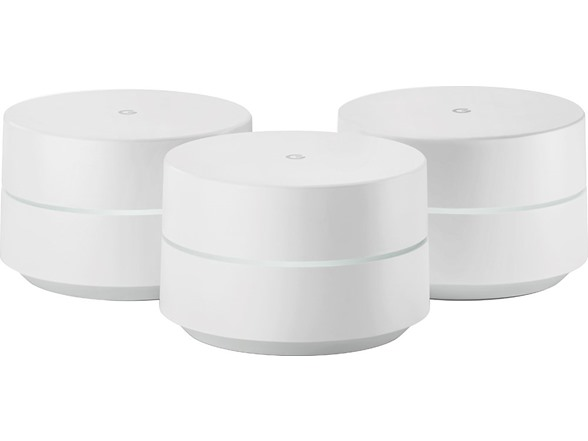 1-Pack Router replacement for whole home coverage Google WiFi system,
