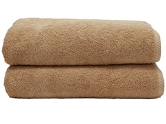 700GSM Soft Twist Bath Sheets-S/2-Sand