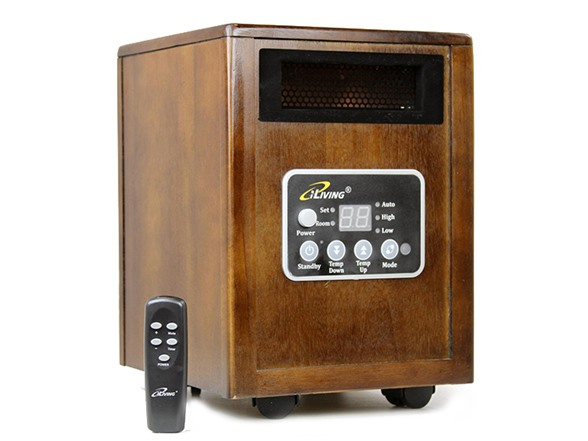 living room heaters iliving infrared portable space heater 10998