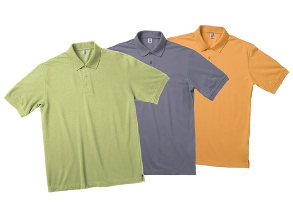 Zorrel Men's 3-Pack Pique Polo AC201485A
