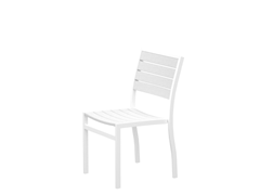 Euro Dining Chair, White