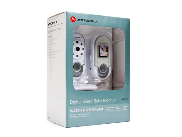 motorola baby monitor how to turn on night vision