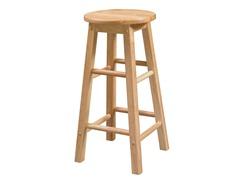 Stool w/Round Seat (2 Szes)