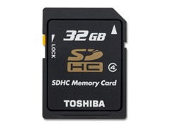 Toshiba 32GB Class4 SDHC Memory Card