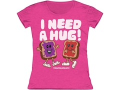 Girls Toddler Tee - I Need a Hug (2T-5/6T)