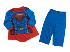 Superman 2pc Set w/ Cape (2T-8)