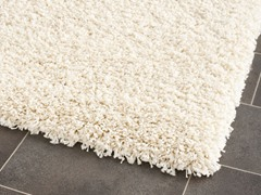 California Shag Rug Ivory (5 Sizes)