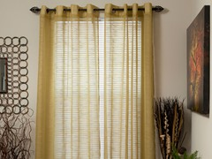 "84"" Mia Jacquard Grommet Panel - 5 colors"