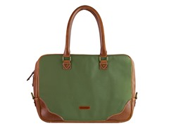 AVI-8 Men's Canvas Briefcase,Khaki Green