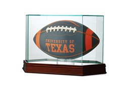 Glass Football Case