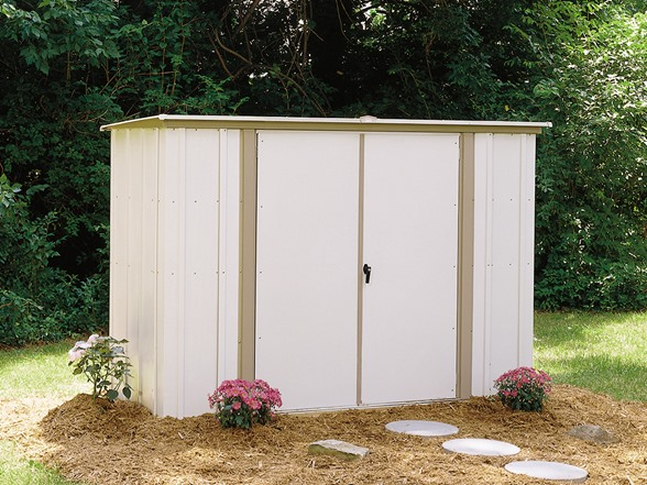 Arrow 8 X 3 Metal Garden Storage Shed