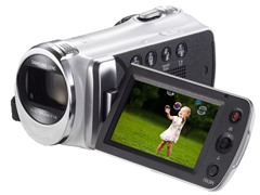 Samsung 720p HD Camcorder with 52x Optical Zoom
