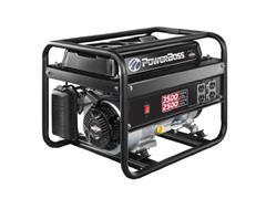 Power Boss 2500-watt Gas Powered Portable Generator