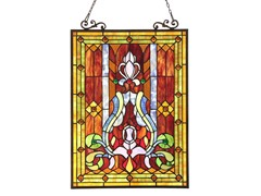 Victorian Window Panel/ Suncatcher