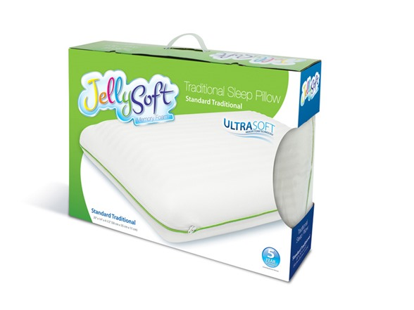 Vivon Traditional Memory Foam Pillow : Jelly-Soft Memory Foam Traditional