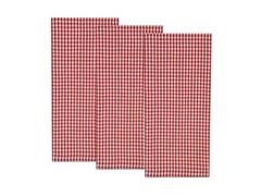 Nantucket Check Dishtowel Set-Red