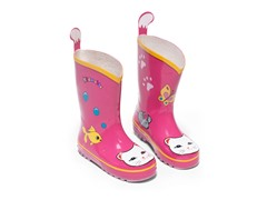 Lucky Cat Rain Boots size 11