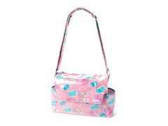 Groovy Love Messenger Style Diaper Bag