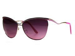 Nellie Sunglasses, Silver/Purple