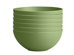 Planter Bowl, 12-Inch, Green, 6-Pk