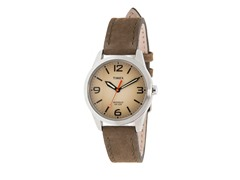 Timex Weekender Watch, Olive Leather