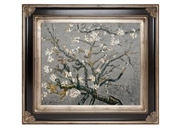 Almond Tree In Blossom - Grey