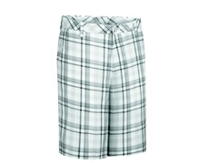 Ashworth Madras Flat Shorts - Dark Gray