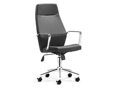 ZUO Holt High Back Office Chair Black PU