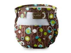 Ultra Lite Diaper - Brown