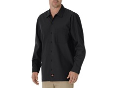 Long Sleeve, One Pocket - Black