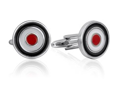 SD Man Bullseye Cufflinks