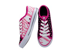 Zany Zebra Lace-up