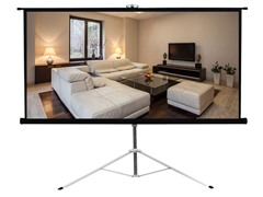 "Pyle Floor Standing Projector Screen 43.3""x57.1"""