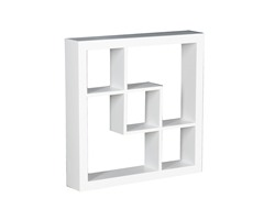 "Madison 16"" Display Shelf White"