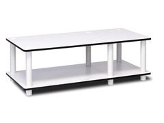 Furinno Just No Tools Mid TV Stand White