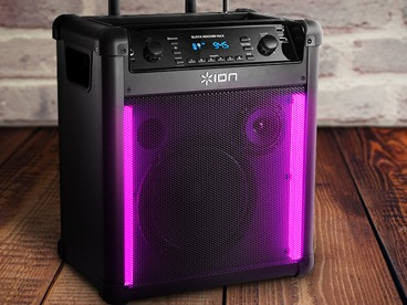 ION Block Rocker Maxx Bluetooth Speaker