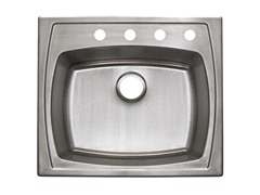 Drop-In Kitchen Sink, Stainless Steel
