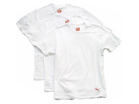 Puma Men's Crew Neck Shirt 3-Pack