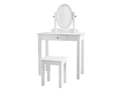 3-Piece Vanity Set- White