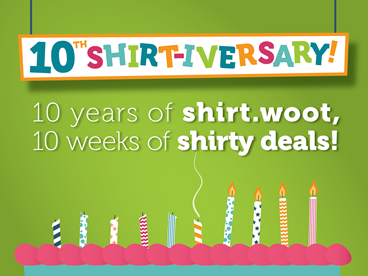 Birthday Blowout: Woot! Kids' Tees