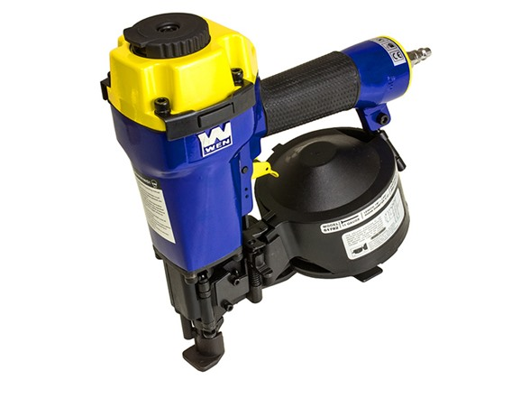 Wen 7 8 Inch To 1 3 4 Inch Coil Roofing Nailer