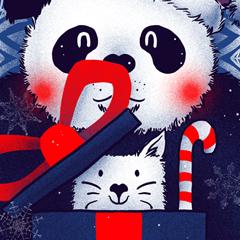 Panda Xmas