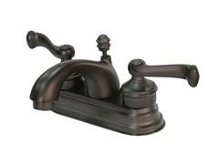 Lavatory Faucet w/ Pop-up, Bronze