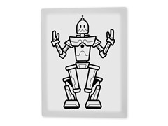 Robby the Robot Coloring Canvas