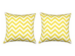 Zig Zag Corn 17x17 Pillows S/2