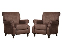 Austia Pushback Recliner Set of 2