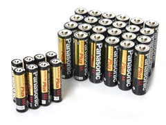 Panasonic Battery Pack - 24AA/8AAA
