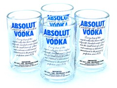 Blumarble Absolut Shot Glass Set of 4