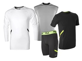 FILA Men's Endurance Compression Gear