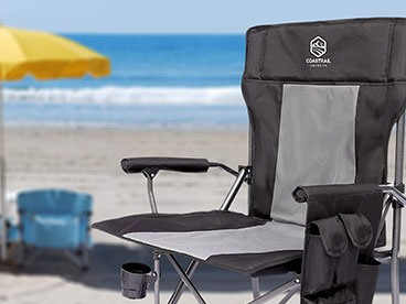 Coastrail Camping Chairs and Hand Warmers